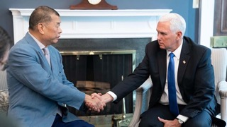 Jimmy Lai dan Mike Pence (Image: White House)