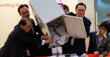 Pemilihan Anggota Dewan Distrik HK (Foto: Billy H.C. Kwok/Getty Images)