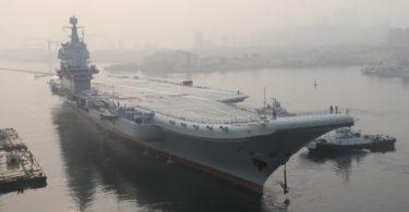 Kapal Induk Tiongkok (Foto: AFP via Getty Images)