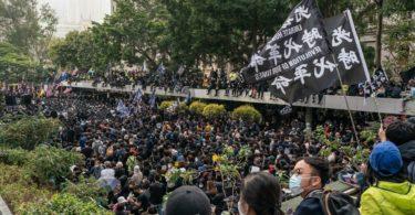 Demonstrasi Hong Kong