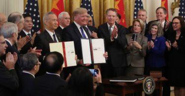 Perjanjian dagang AS-Tiongkok tahap 1