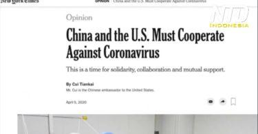 Halaman web The New York Times
