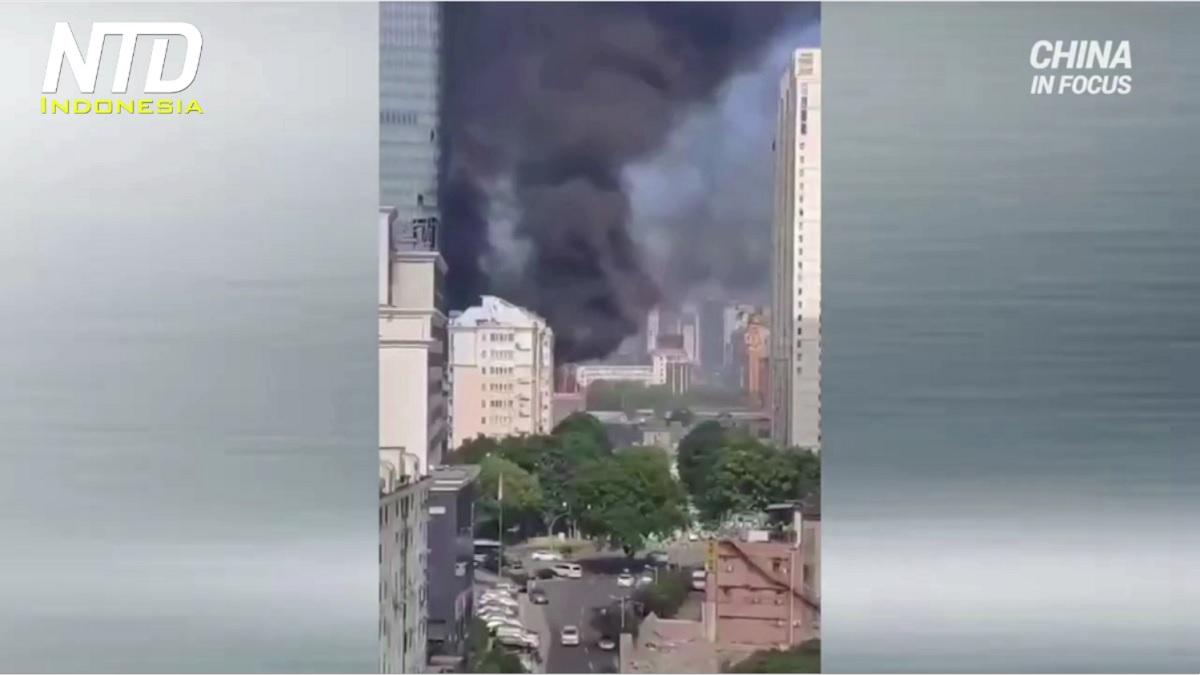 Kebocoran Gas Beracun dari Pabrik Kimia di Sichuan - NTD