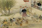 Lin Zexu mengawasi penghancuran opium. (©wikimedia)
