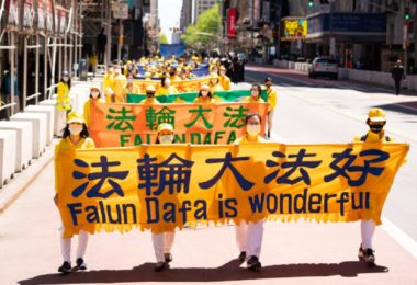 Pawai Falun Dafa
