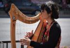 Bermain harpa (Sergio Capuzzimati @ Unsplash)