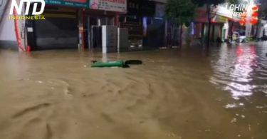 Banjir di Tiongkok