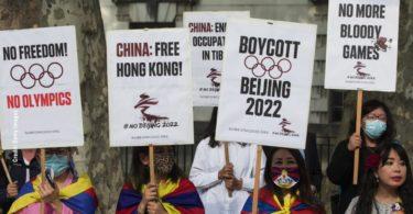 Protes Olimpiade Beijing